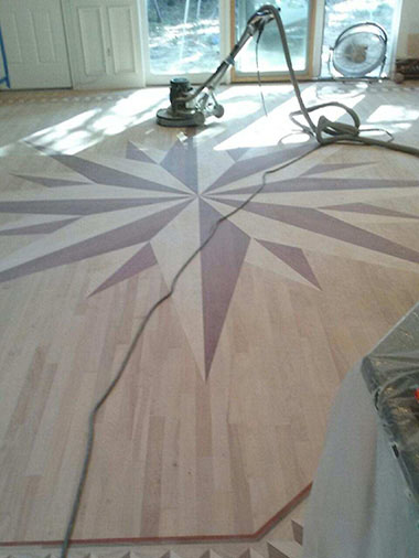 Bob Mohr does dust free sanding for flooring in Colorado